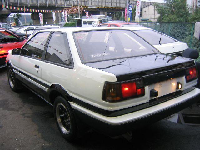 86TRUENO009F 86TRUENO009R 1983 TOYOTA SPRINTER TRUENO ...